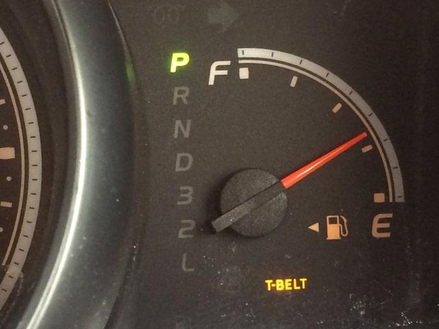 本当にガス欠か確認する