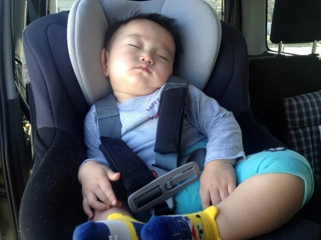 子供が寝ている時に距離を稼ごう