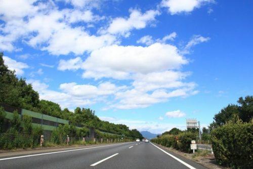 高速道路の場合